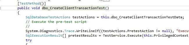 transaction test - before