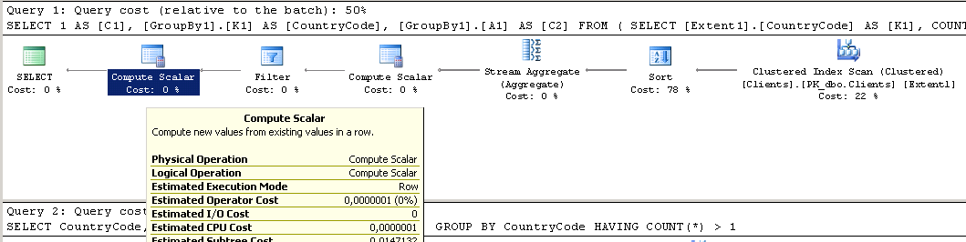 Querying Entity Model  Part 8 – Implementing GROUP BY And